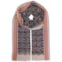 Unmade sjaals donkerbruin