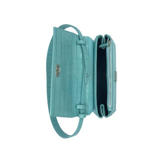 Kaai kleine handtassen - avondtassen turquoise