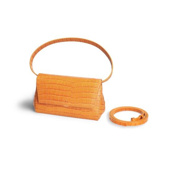 Kaai kleine handtassen - avondtassen geel