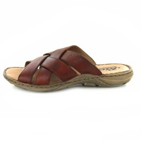 Rieker slippers cognac