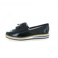 Rieker loafers - espadrilles blauw