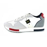 Blauer sneakers wit