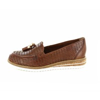 Tamaris loafers - espadrilles cognac