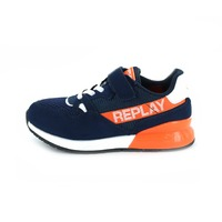 Replay&sons sneakers velcro blauw