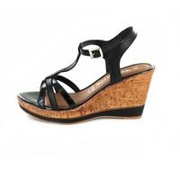 Tamaris sandalen zwart