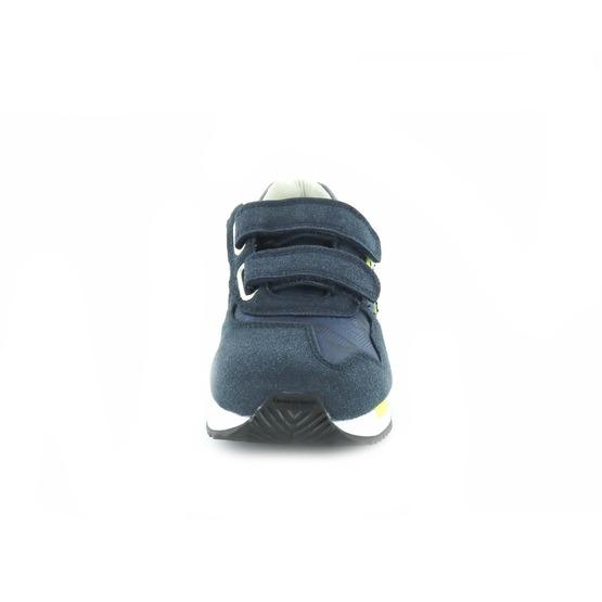 Blauer sneakers velcro blauw
