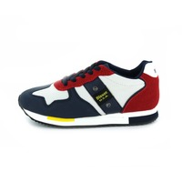 Blauer sneakers veter multicolor