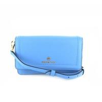 Michael Kors kleine handtassen - avondtassen lichtblauw