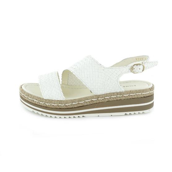 Pons Quintana sandalen wit