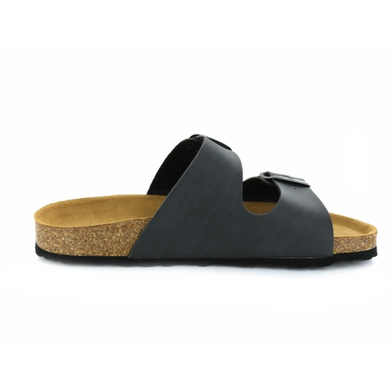 Cypres slippers grijs