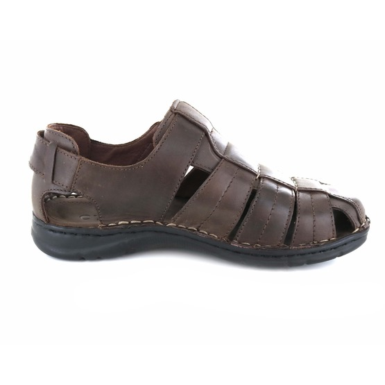 Cypres sandalen donkerbruin