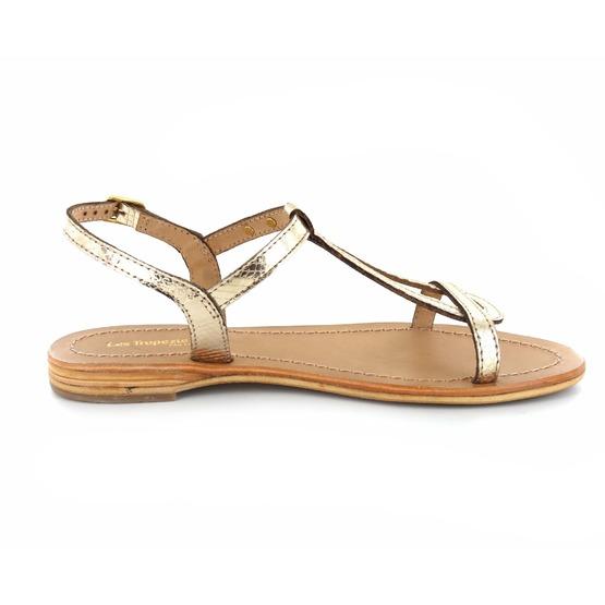 Les Tropeziennes sandalen goud