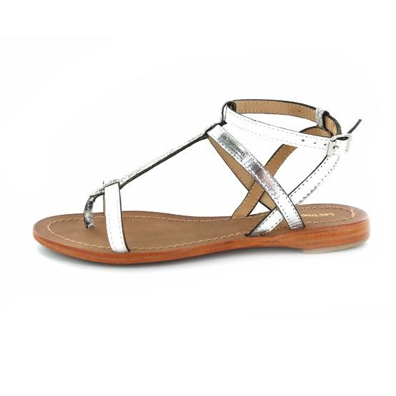 Les Tropeziennes sandalen wit