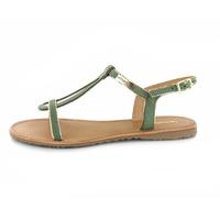 Les Tropeziennes sandalen groen
