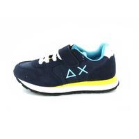 Sun 68 sneakers veter blauw