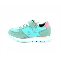 Sun 68 sneakers veter turquoise