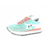 Sun 68 sneakers turquoise