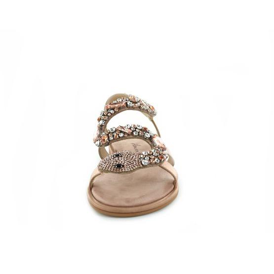 Alma En Pena sandales rose