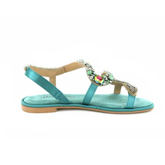 Alma En Pena sandales turquoise