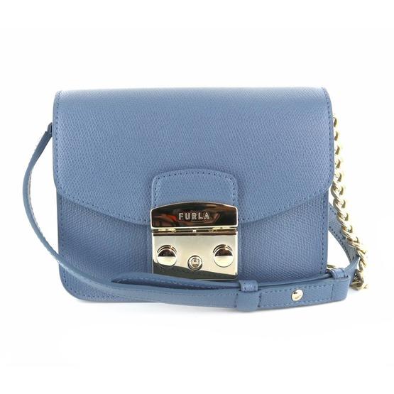 Furla kleine handtassen - avondtassen lichtblauw