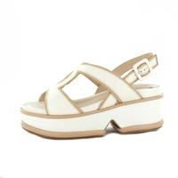 Elvio Zanon sandalen lichtbeige