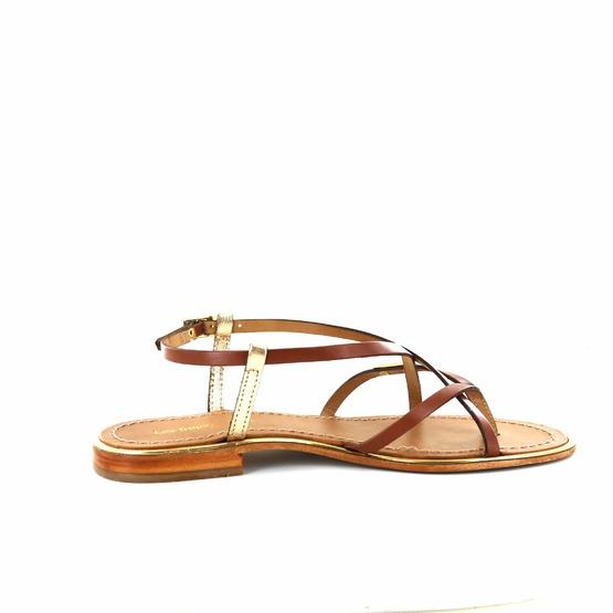 Les Tropeziennes sandalen cognac