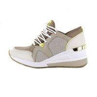 Michael Kors baskets beige clair
