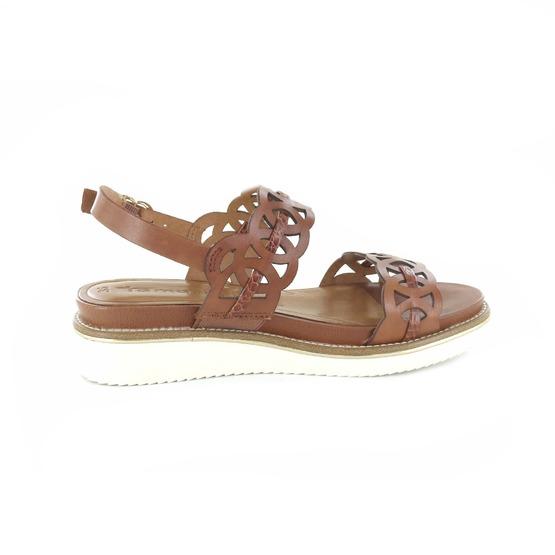 Tamaris sandalen cognac