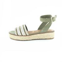 Tamaris sandalen groen