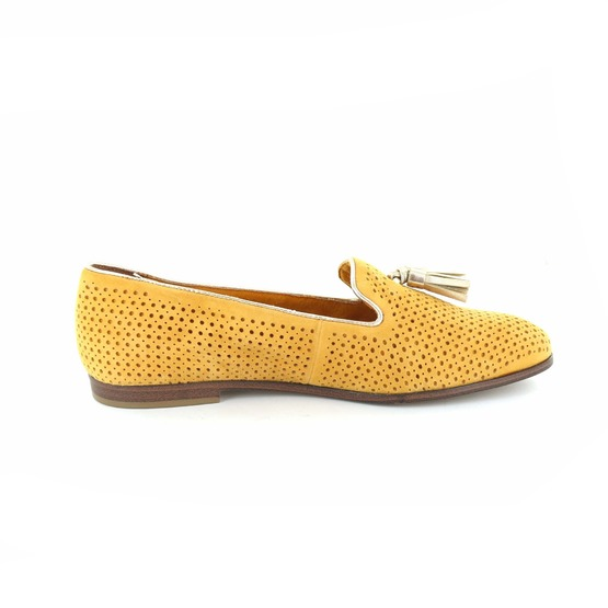 Tamaris loafers - espadrilles geel