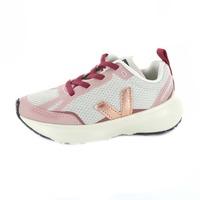 Veja baskets à lacets rose