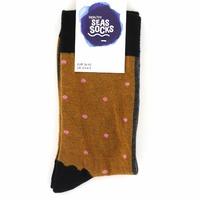 Healthy Socks sokken cognac