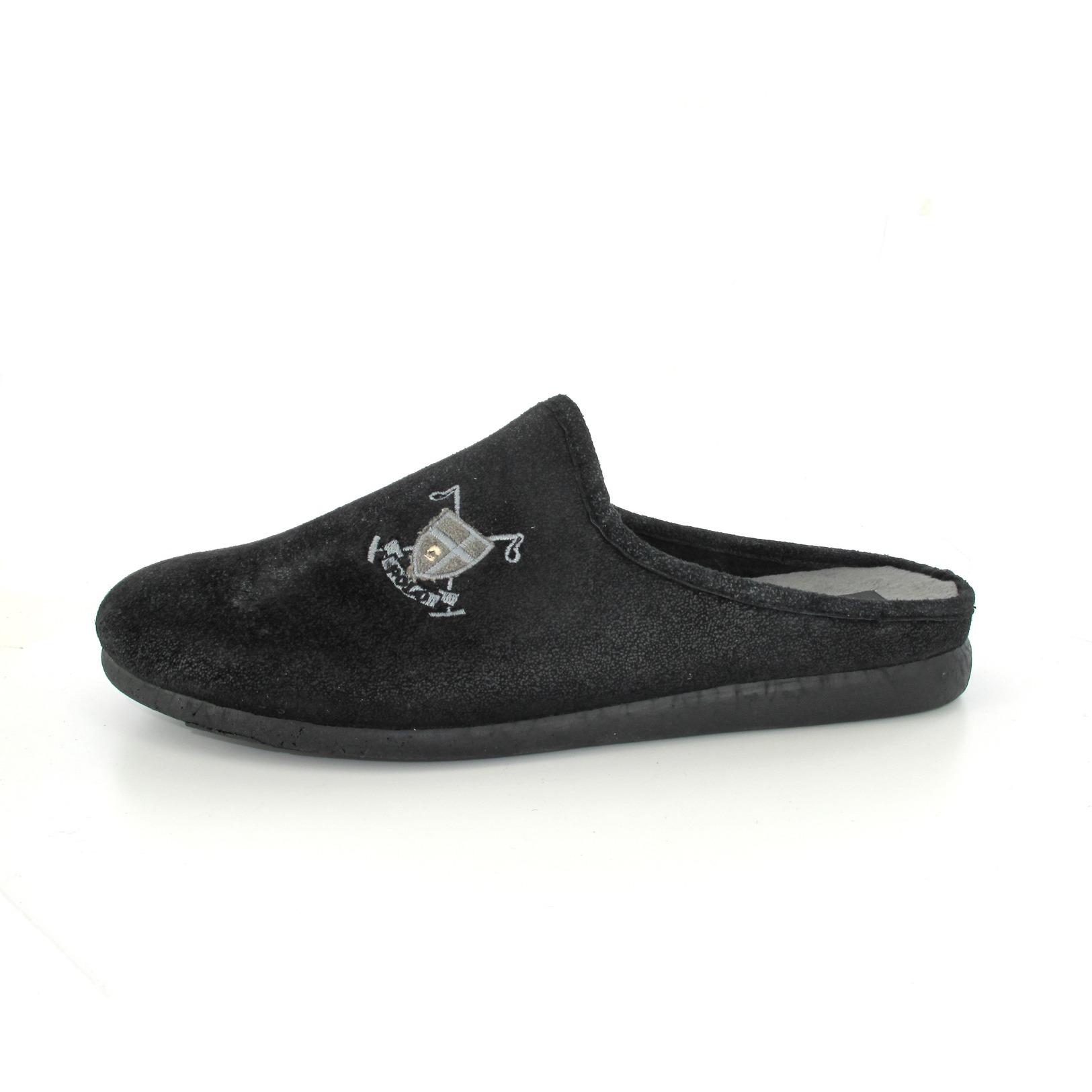 CYPRES / pantoffels, zwart