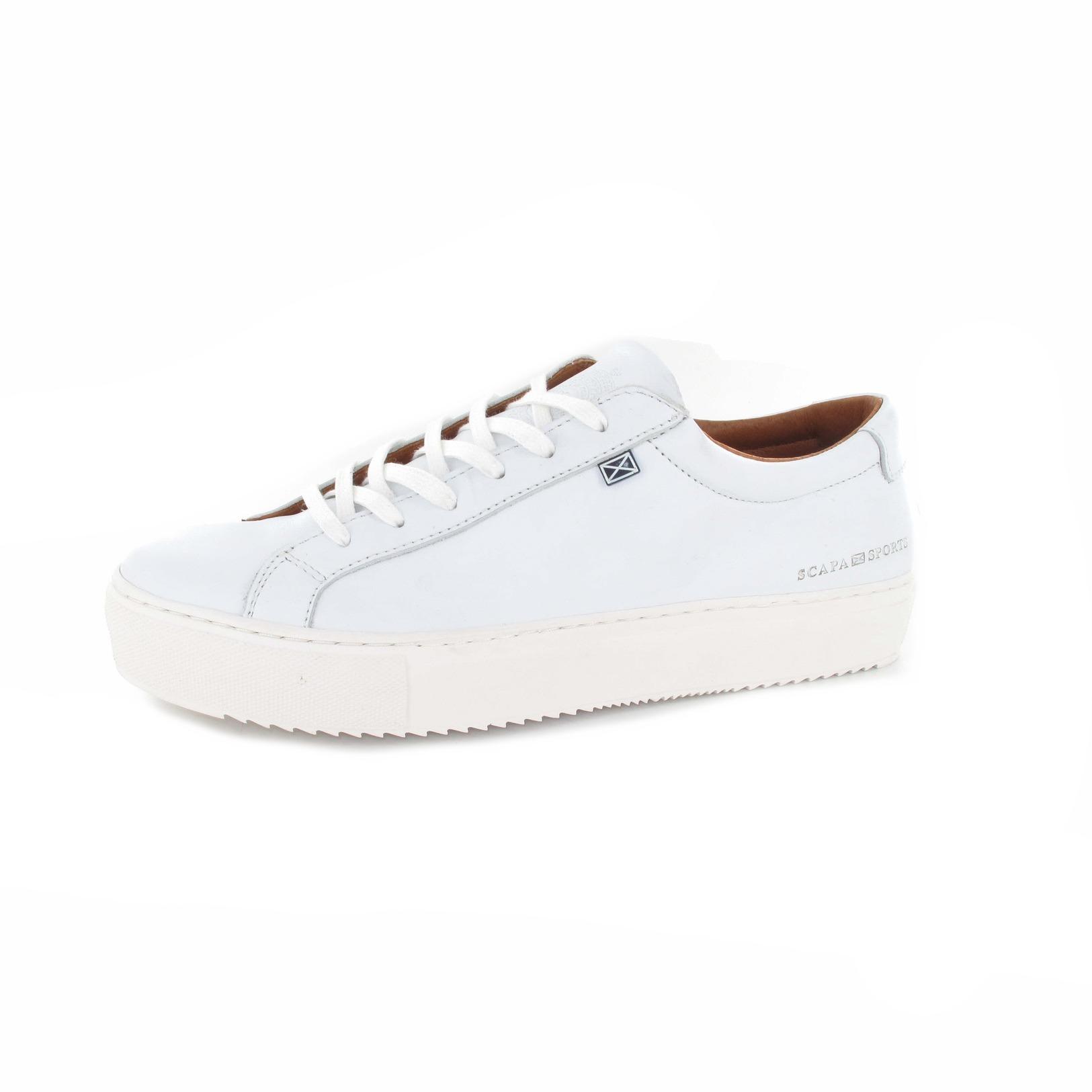 Chaussures Scapa / Dentelle - Chaussures De Sport, Blanc
