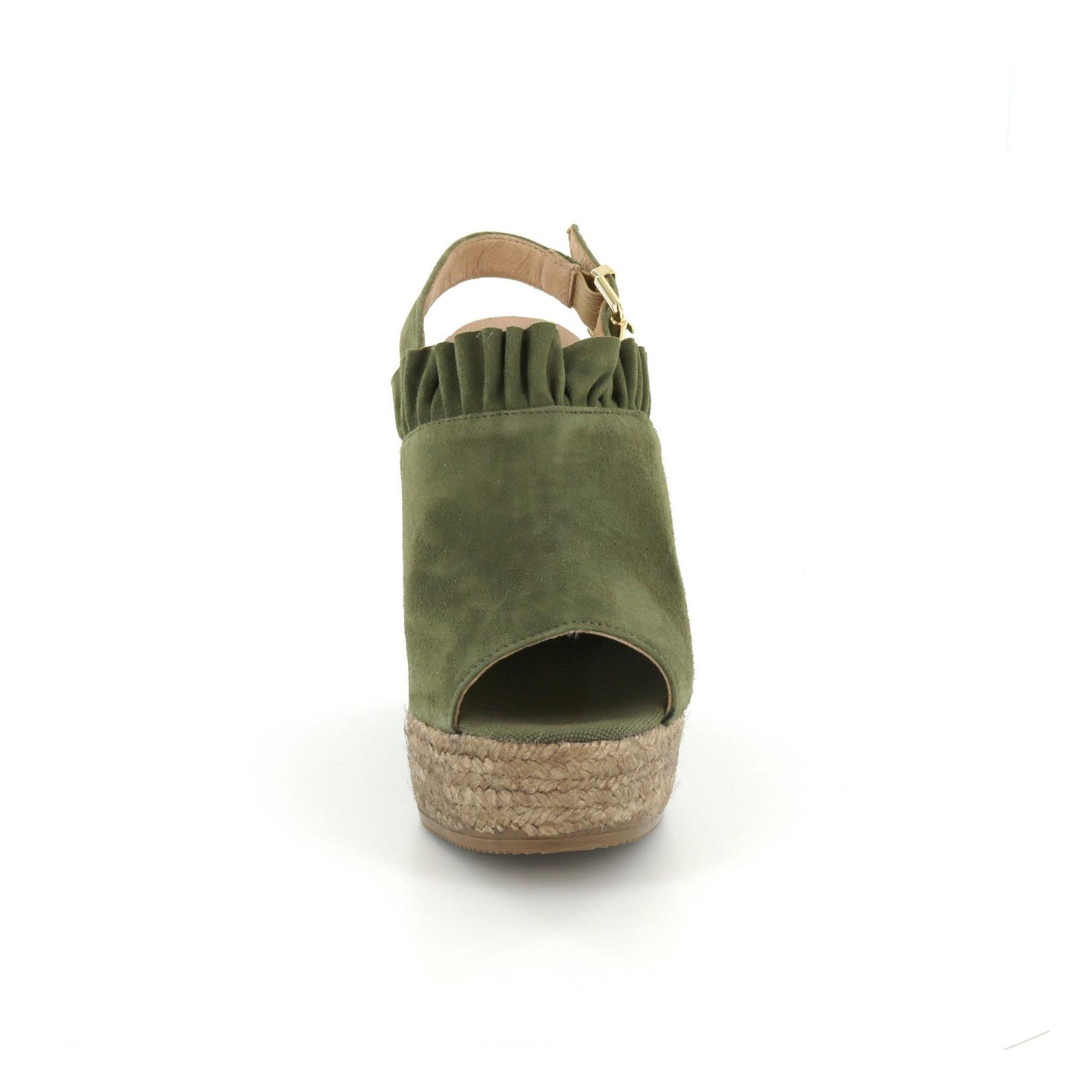KANNA / Sandalen, groen