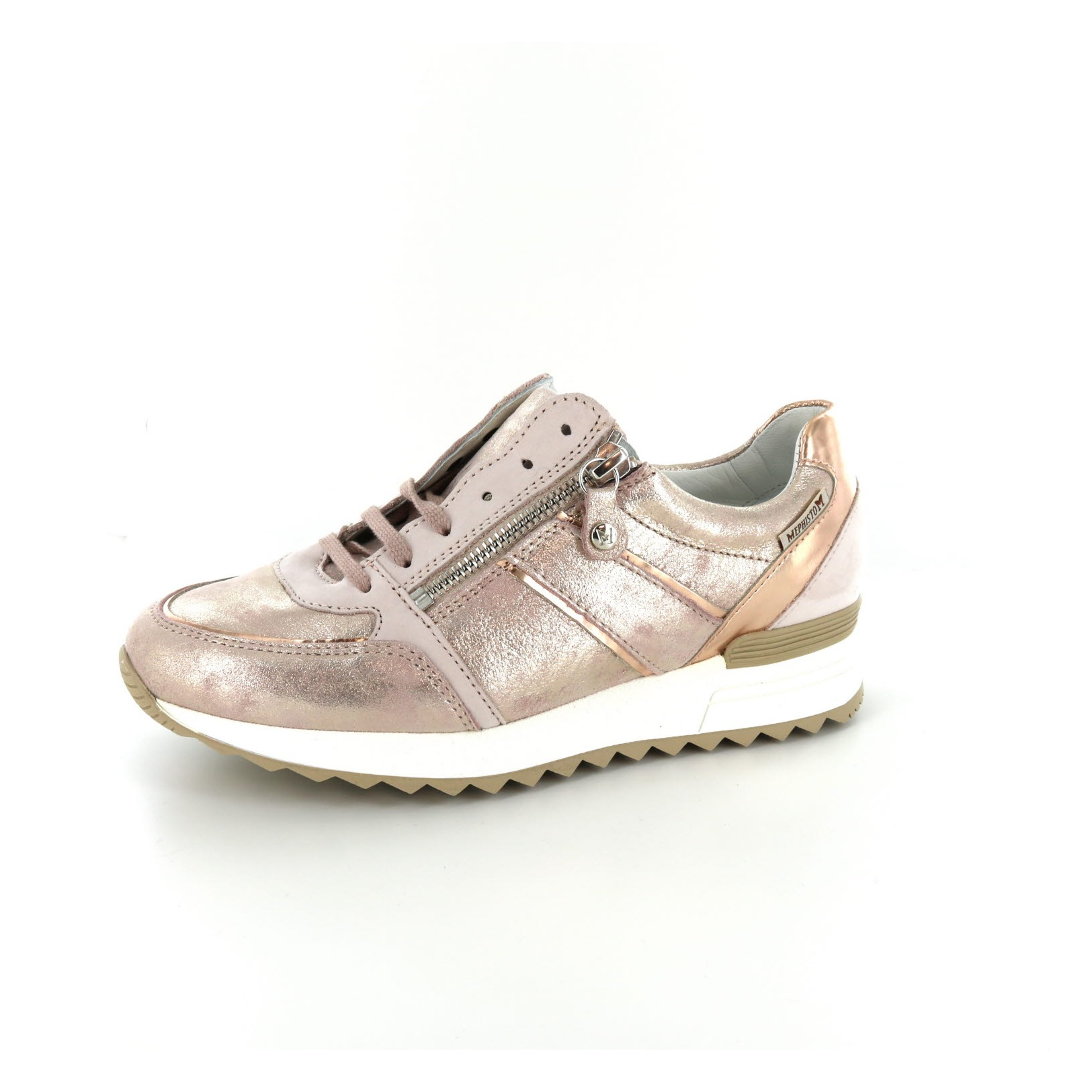 Chaussures Mephisto / Dentelle - Chaussures De Sport, Rose