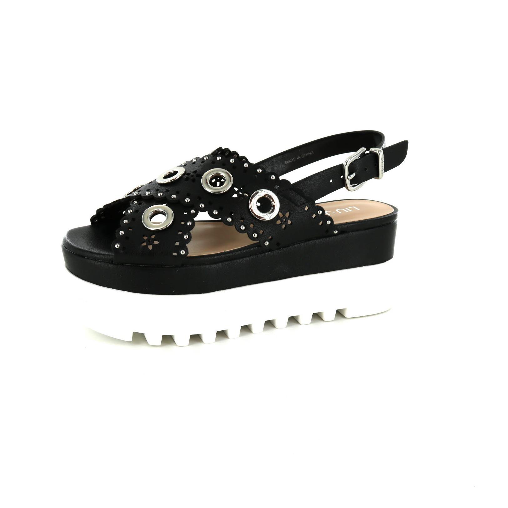 LIU JO / Sandalen, zwart