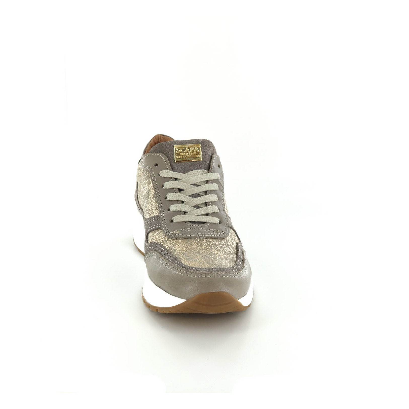 Chaussures Scapa / Dentelle - Chaussures De Sport, Taupe