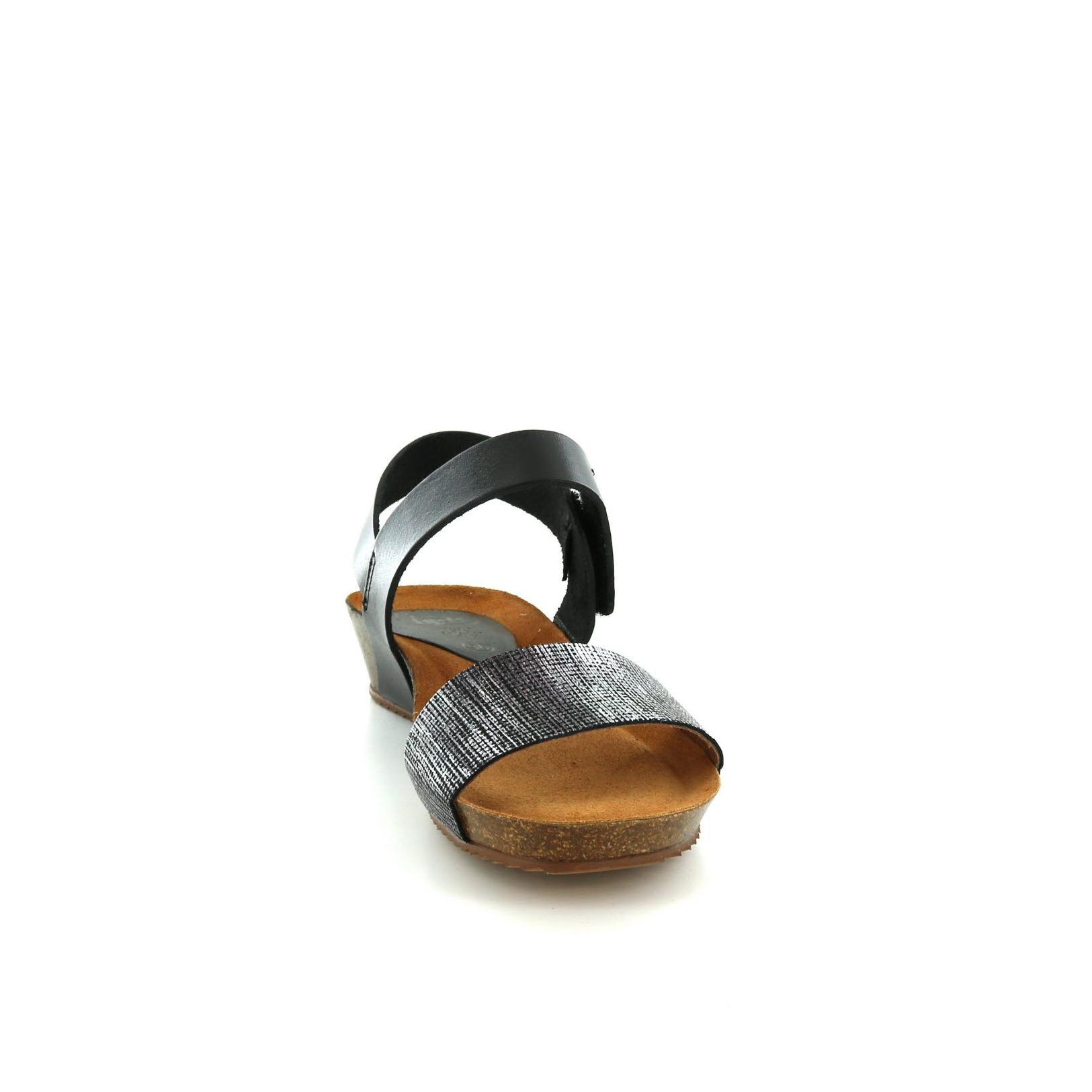 HEE / Sandalen, zwart