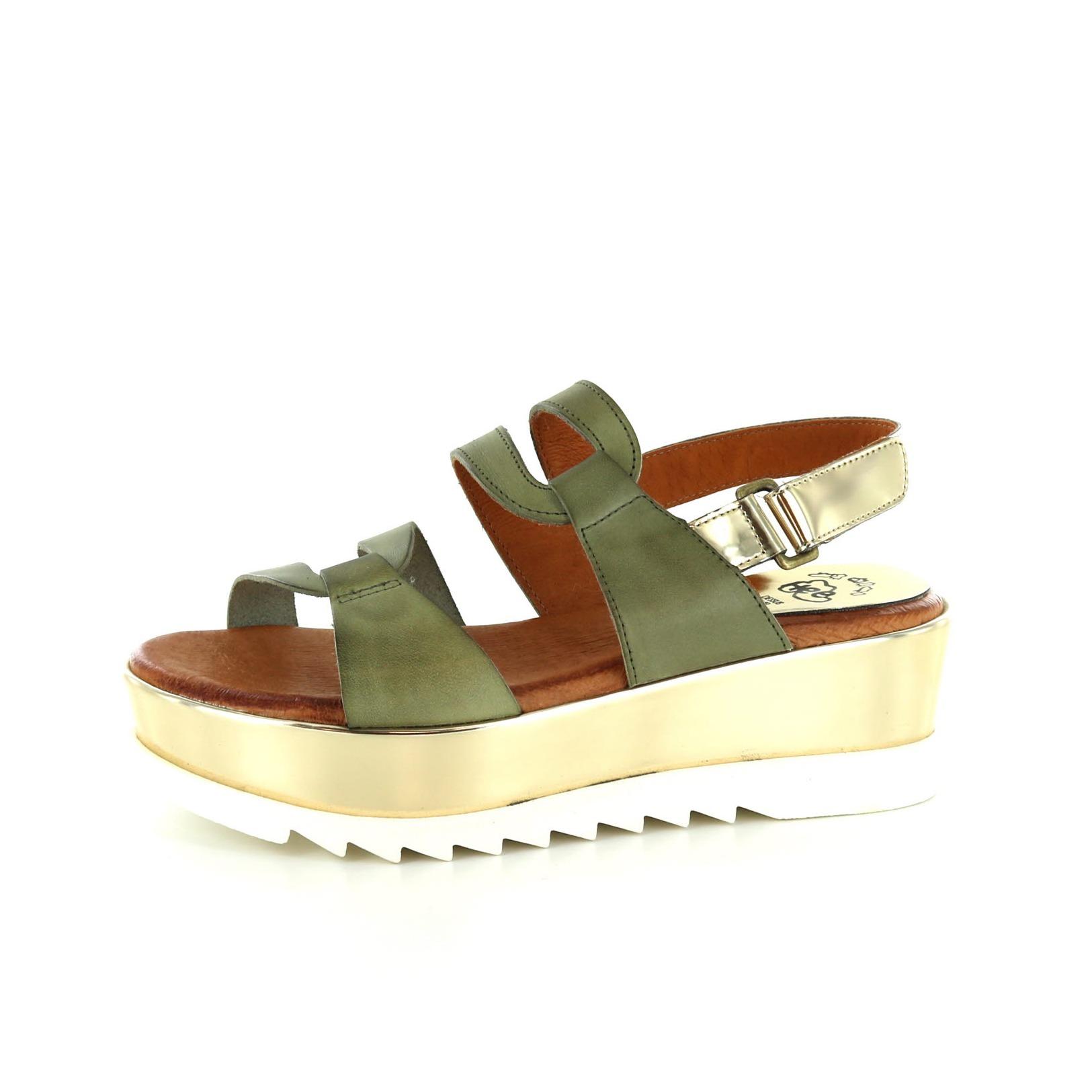 HEE / Sandalen, groen