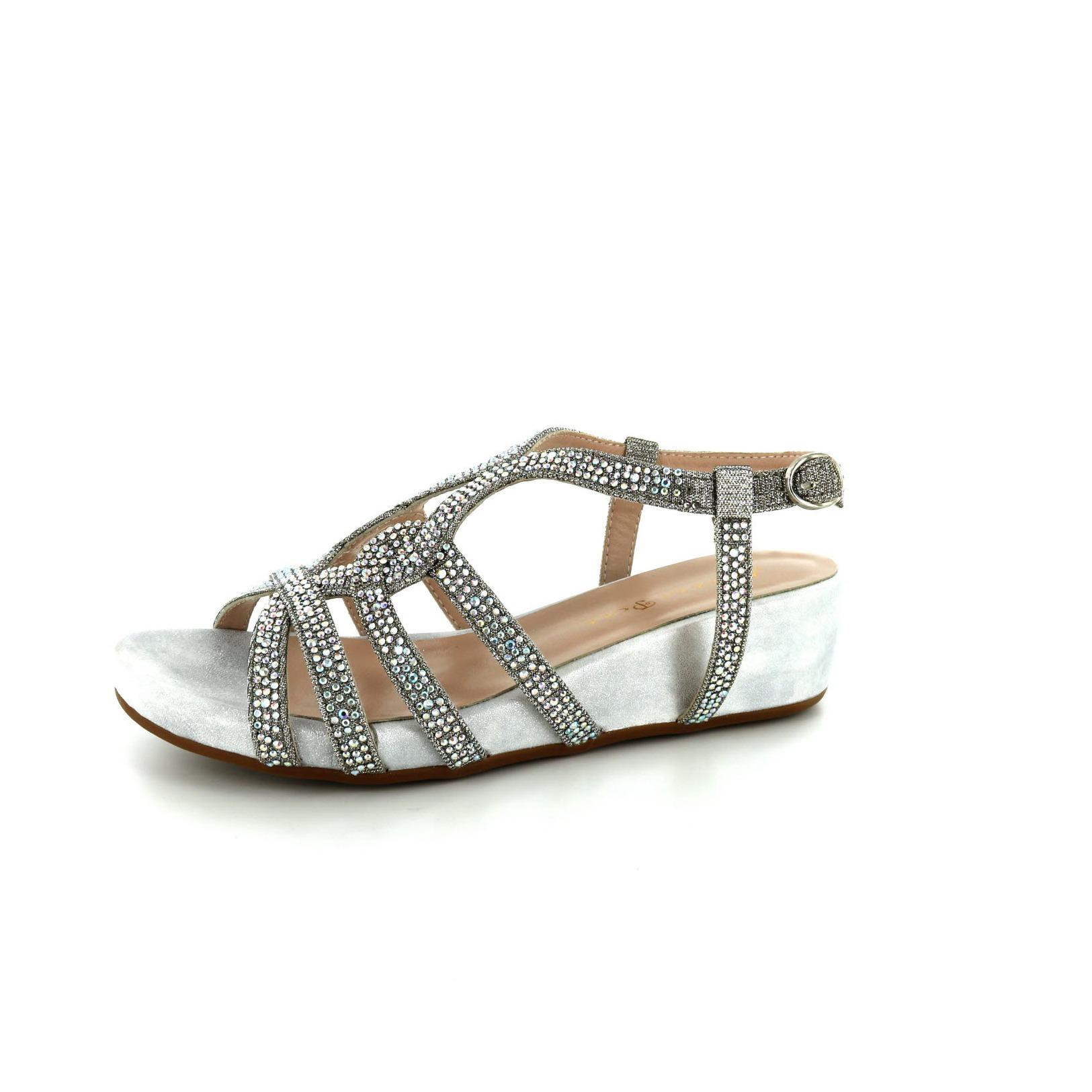ALMA EN PENA / Sandalen, zilver