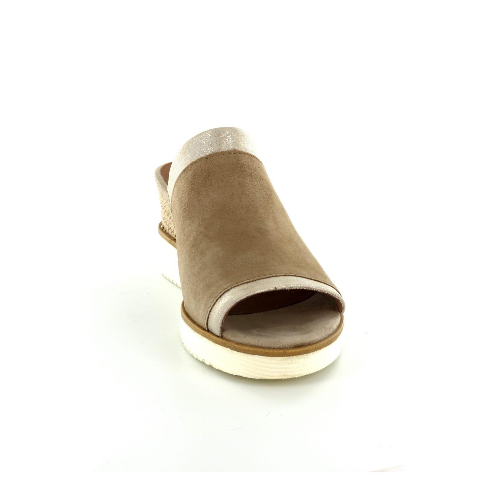 Tamaris / Pantofole - Muiltjes, Taupe