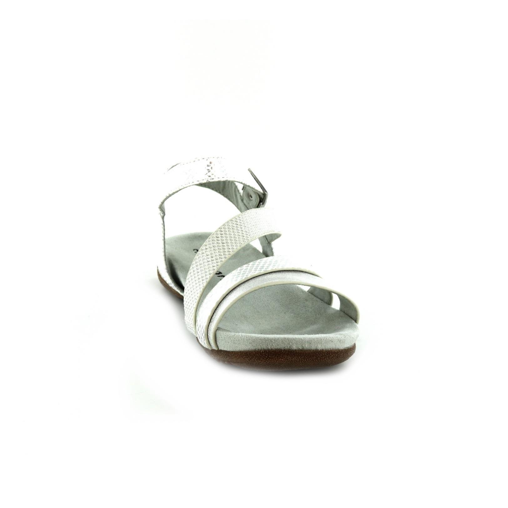 TAMARIS / Sandalen, wit