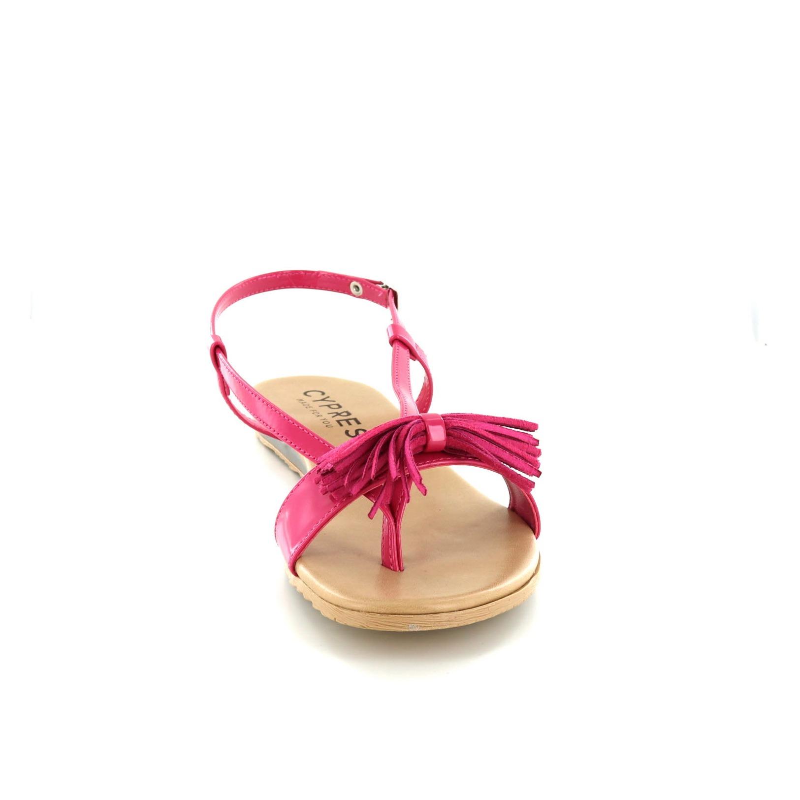 CYPRES / Sandalen, roze