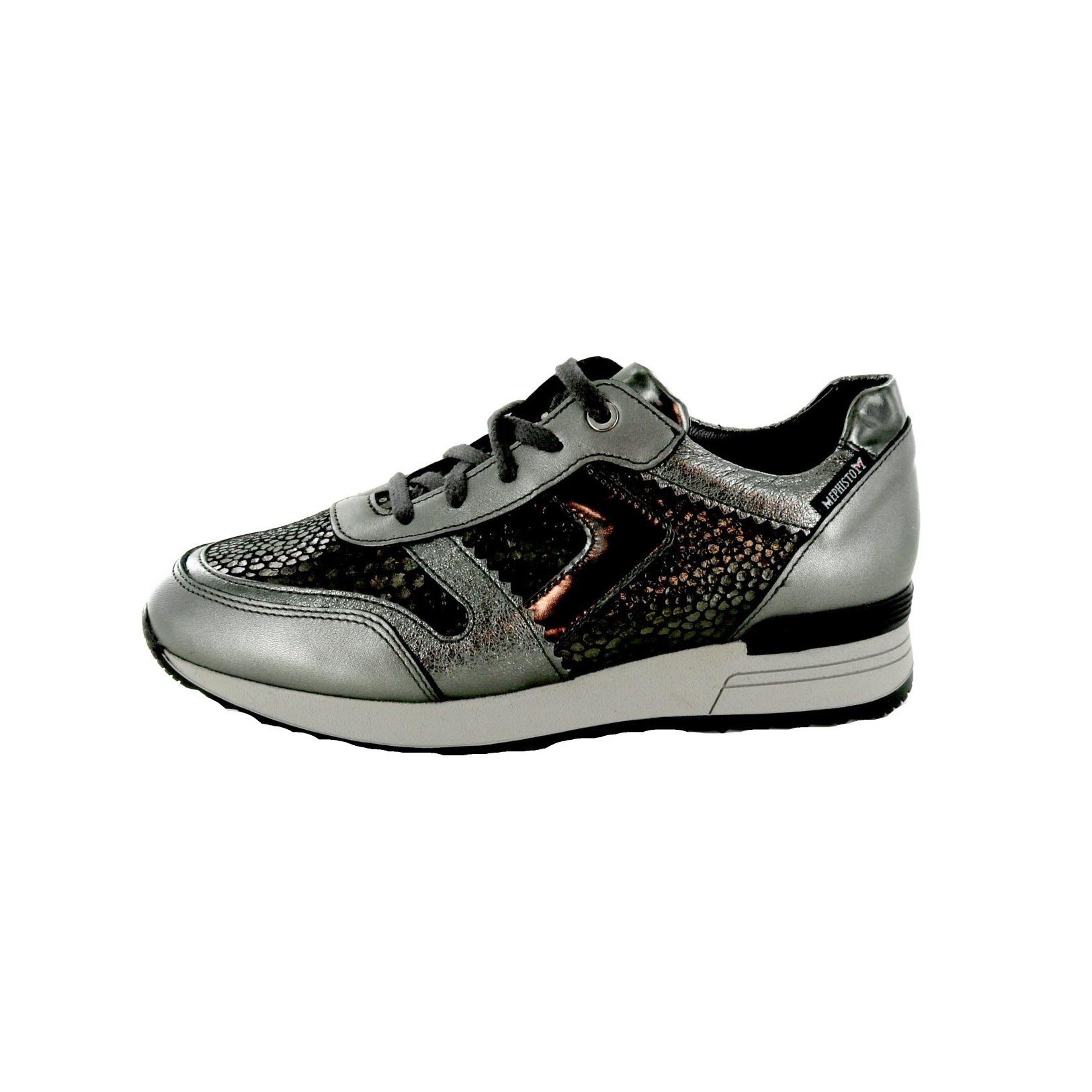 Chaussures Mephisto / Dentelle - Chaussures De Sport, Gris