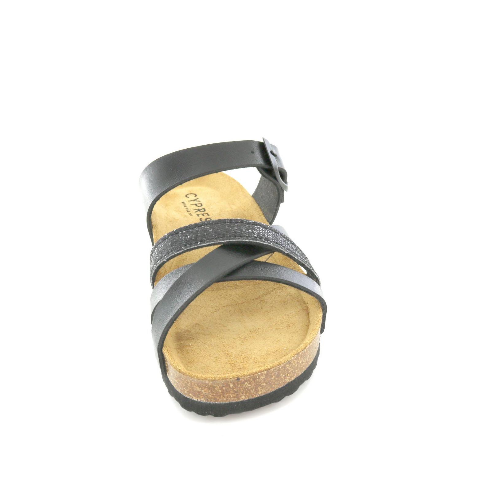 Cypress / Pantofole - Pantofole, Nero