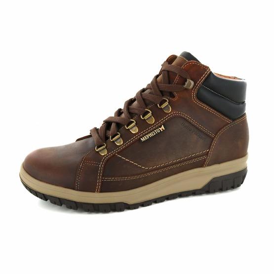 5ff9703484f4d2 MEPHISTO   Boots   Herenschoenen   Schoenen   PITT GRIZZLY 144/00 COGNAC    Ralet
