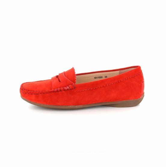 oranje damesschoenen