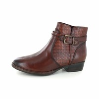 Tamaris booties cognac