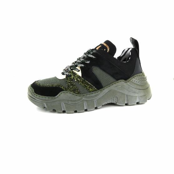 Meline chaussures à lacets vert